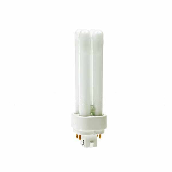 COMPACT FLUORESCENT PLC 13W 4 PIN 827 G24Q-1