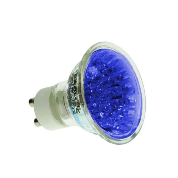 LED GU10 2W BLUE