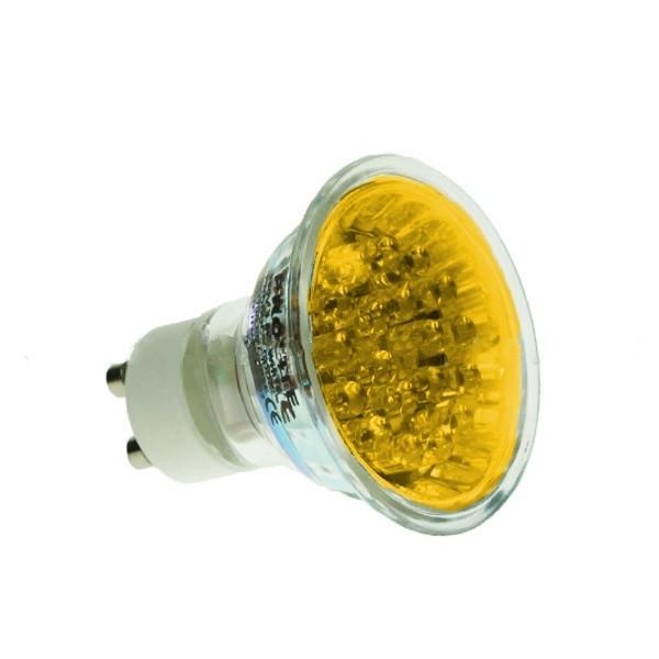LED GU10 1.8W YELLOW