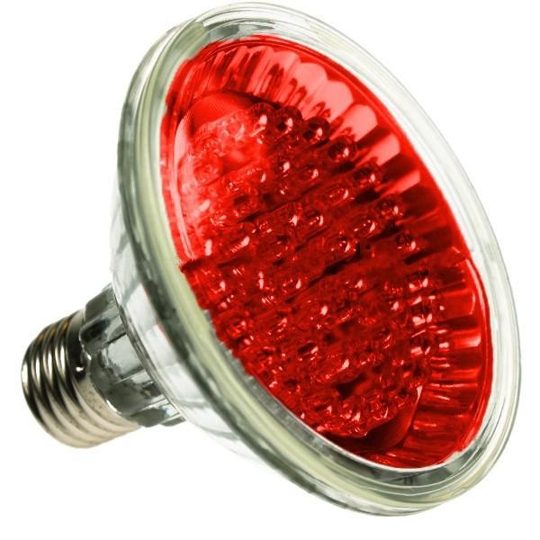 PAR30 LED SPOTLIGHT BULB E27 RED 24 LED