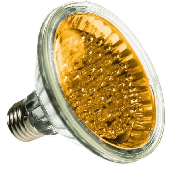 PAR30 LED SPOTLIGHT BULB E27 YELLOW 24 LED