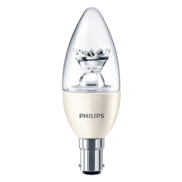 PHILIPS MASTER LEDCANDLE D 6W B15 B39 CL