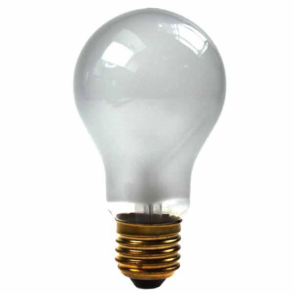 GLS Light Bulb 240V 15W E27 White
