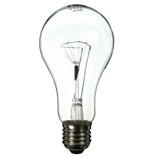 GLS Light Bulb 110V 200W E27 Clear
