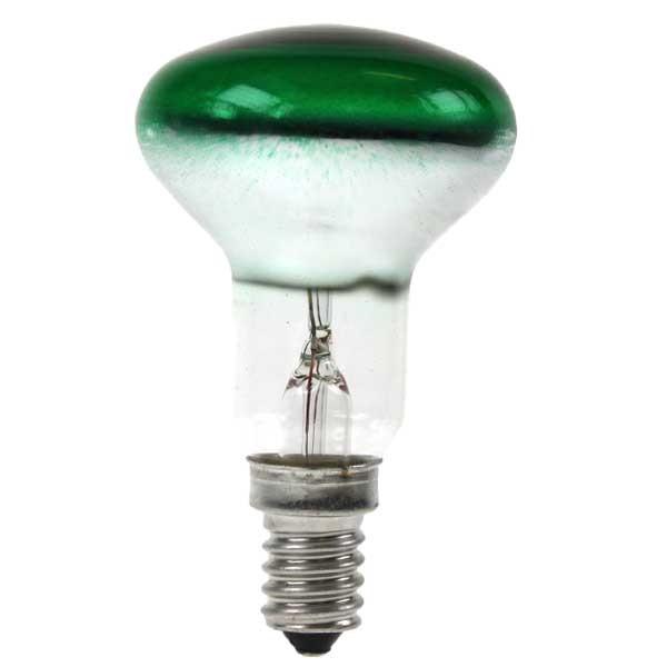 Reflector Spot R50 240V 25W E14 Green