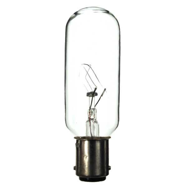 Tubular Bulb 240V 25W  BA15D C11 20X75MM