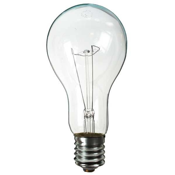 Gls Light Bulb 240v 500w E40 Clear Standard Gls Light Bulbs