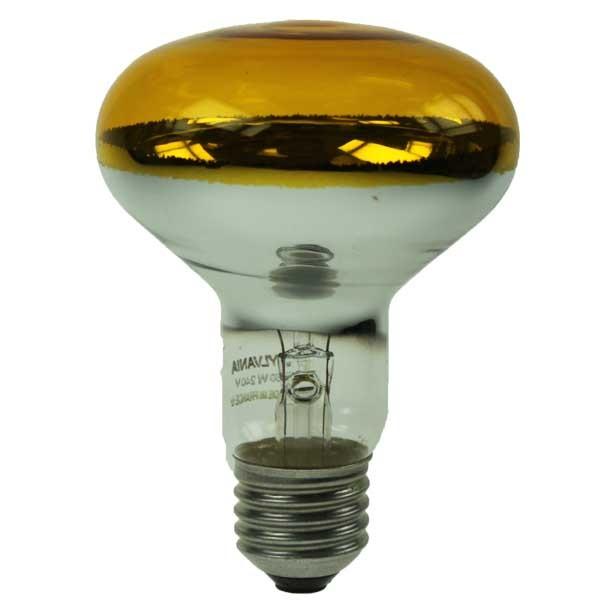 Reflector Spot R80 240V 60W E27 Yellow