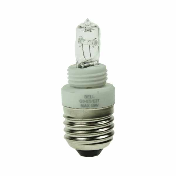 G9 TO ES ADAPTOR + 18W eco G9 LAMP