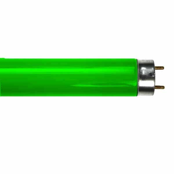 GREEN FLUORESCENT TUBE LT18W/017 2FT T8 18W