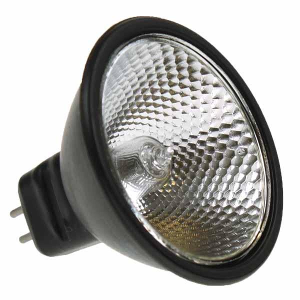 MR16 BLACK REFLEKTO 12V 20W GU5.3 36 DEG