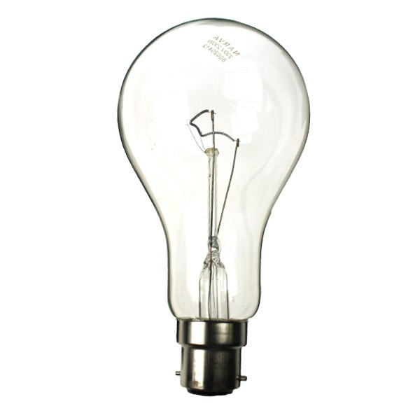 GLS Light Bulb  240V 200W B22D Clear