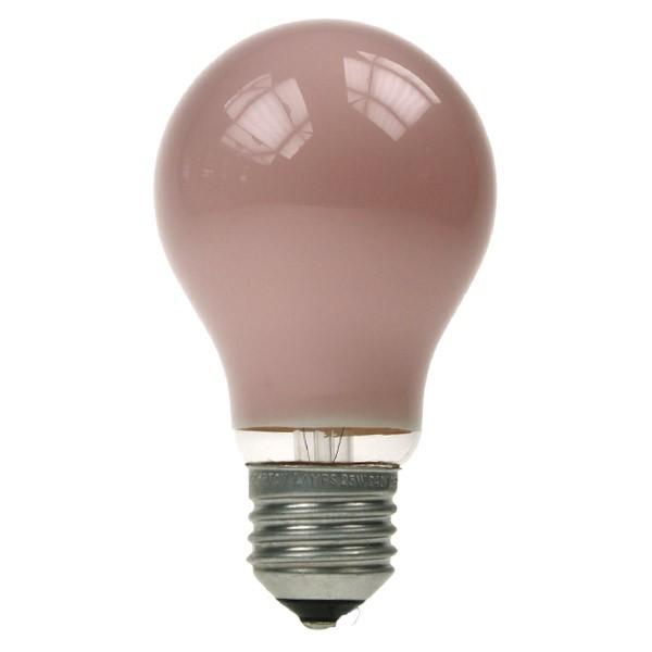 GLS Light Bulb 240V 15W E27 Pink