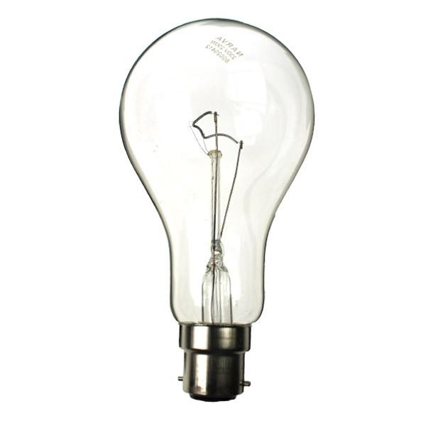 GLS Light Bulb 240V 150W B22D Clear