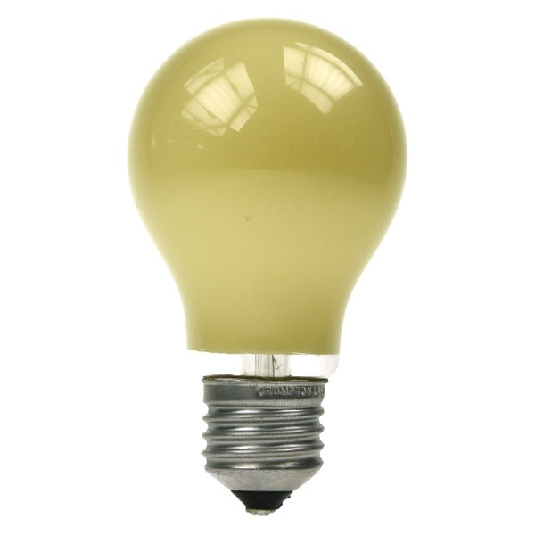 GLS Light Bulb 240V 60W E27 Yellow