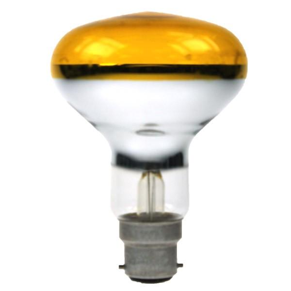 Reflector Spot R80 240V 60W B22D Yellow