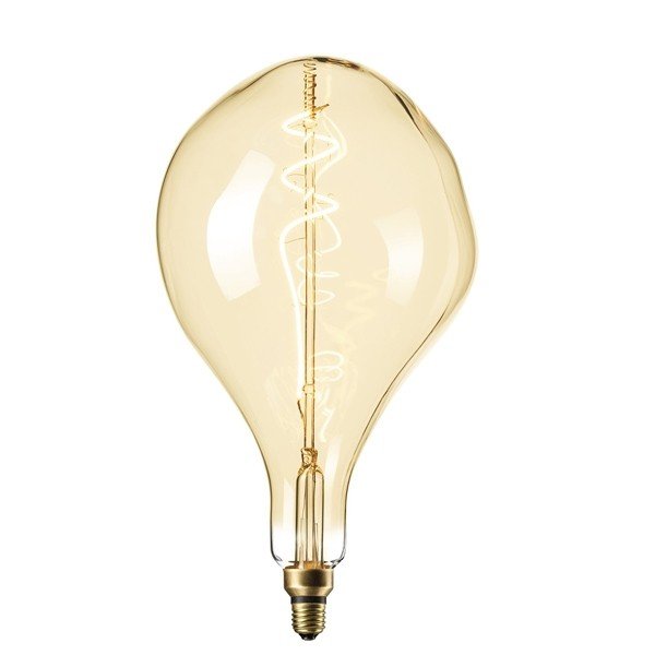 DECORATIVE LED BLOB 6W E27 GOLD DIMMABLE