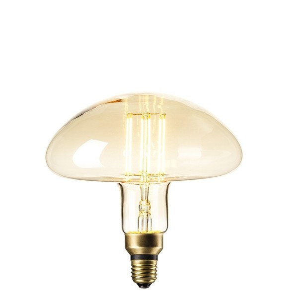 DECORATIVE LED MUSHROOM 6W E27 GOLD DIMMABLE