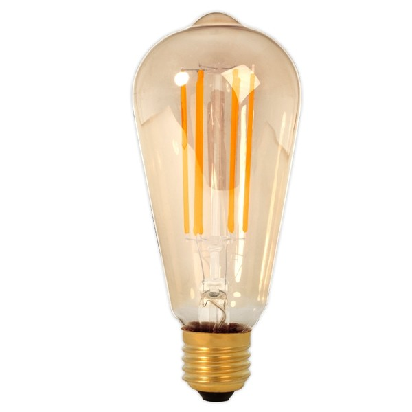 Calex LED Edison Bulb 4w E27 Gold Dimmable