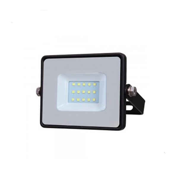 10W SLIMLINE LED FLOODLIGHT 3000K BLACK