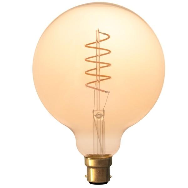 Calex LED Edison Globe 120mm 4w B22d Gold