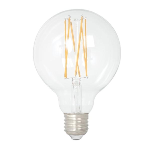 Calex LED Edison Globe 80mm 4w E27 Clear