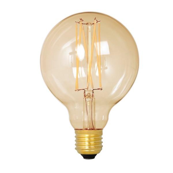 Calex LED Edison Globe 80mm 4w E27 Gold