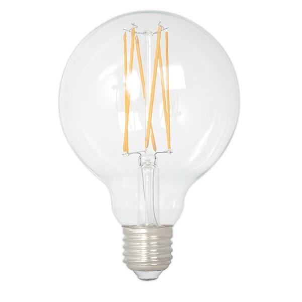 Calex LED Edison Globe 95mm 4w E27 Clear