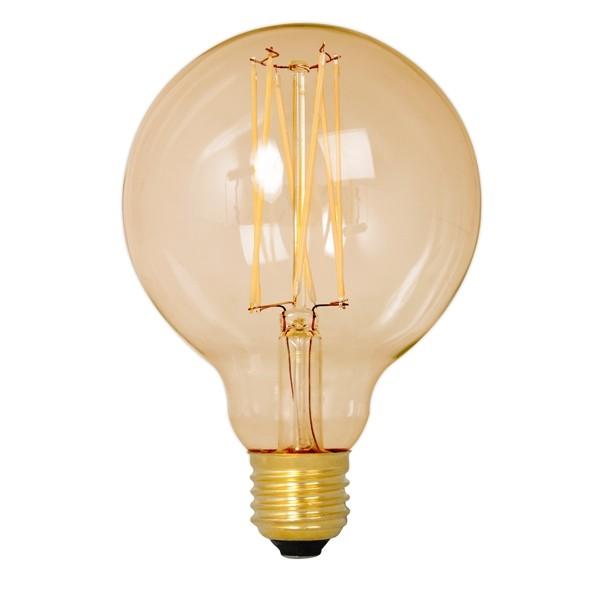 Calex LED Edison Globe 95mm 4w E27 Gold
