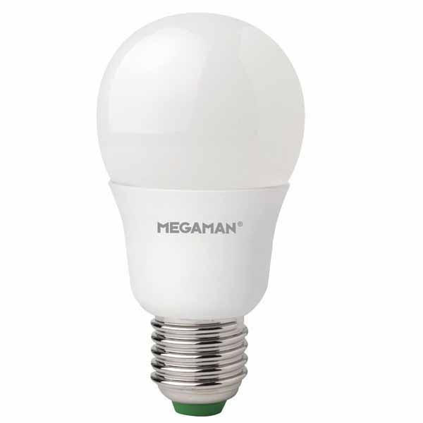 Megaman LED Lightbulb 5.5w E27 Pearl 2800K