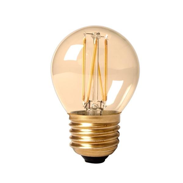 Vintage LED Golf Ball 3.5w E27 Gold