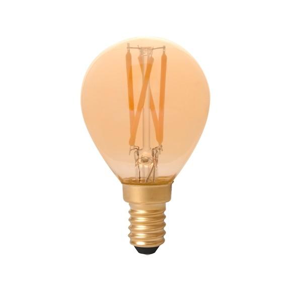 Vintage LED Golf Ball 3.5w E14 Gold