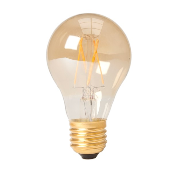 Vintage LED Lightbulb 6.5w E27 Gold