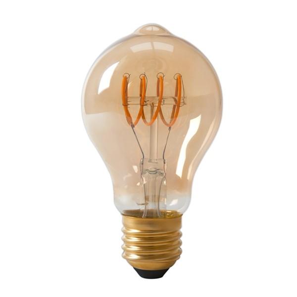 LED Edison Lightbulb 4w E27 Gold Spiral