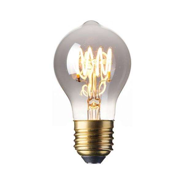 LED Edison Lightbulb 4w E27 Titanium Spiral