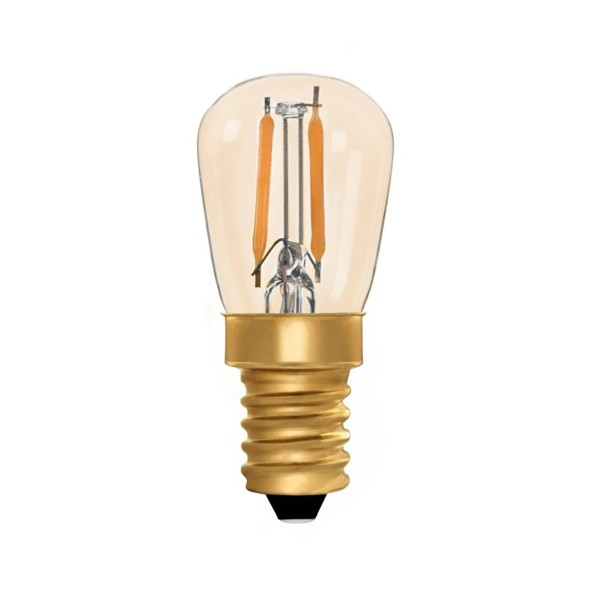 Vintage LED Pygmy 1w E14 Gold Dimmable