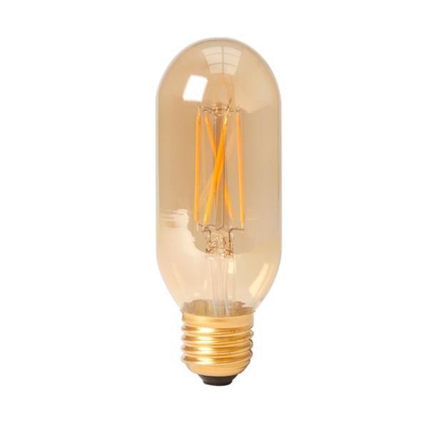 Calex LED Tubular Bulb 4w E27 Gold Dimmable