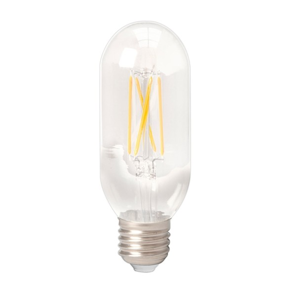 Calex LED Tubular Bulb 4w E27 Clear Dimmable