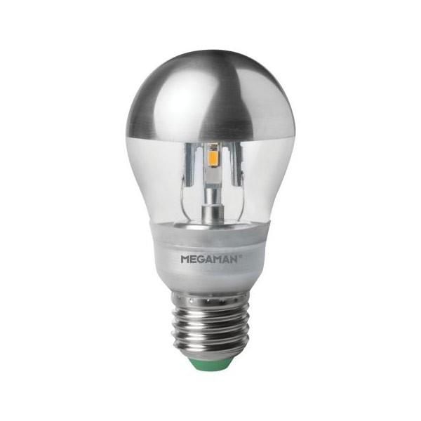 Megaman LED 5W Crown Silver Dimming E27