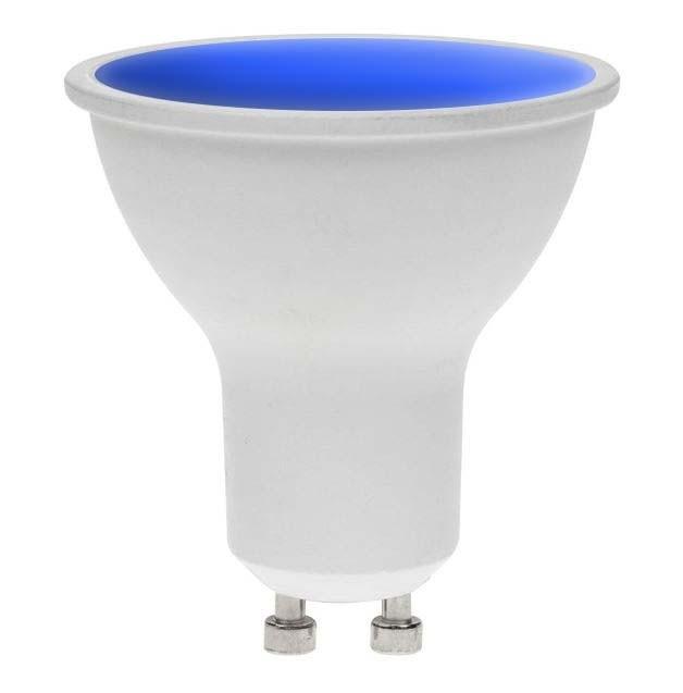 LED GU10 BLUE 7W 240V DIMMABLE