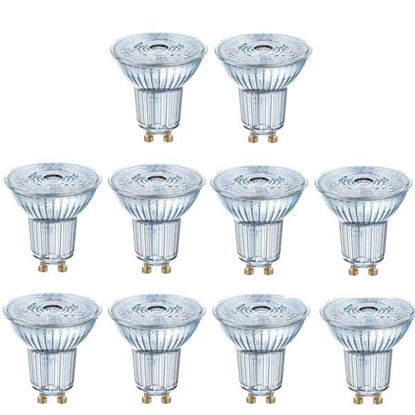 10 Pack Osram LED  Dim PAR16 5.5W GU10 927