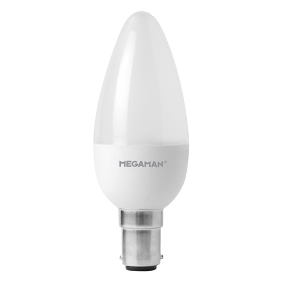 Megaman LED Candle 5w SBC 4000K  Dimmable