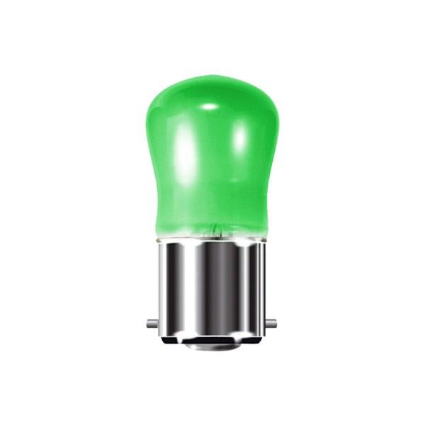 PYGMY 240V 15W B22D GREEN