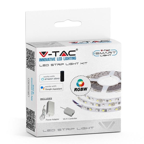 V-TAC Smart Flexible LED Strip Light RGB + 86