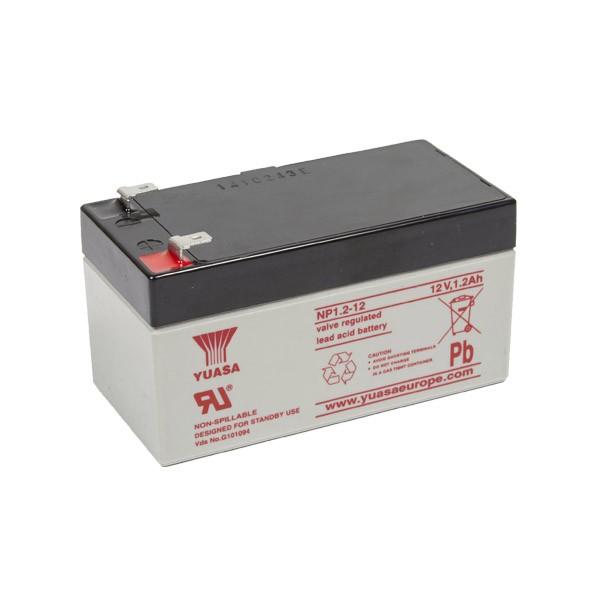 Yuasa NP1.2-12 VRLA Battery 12V 1.2Ah