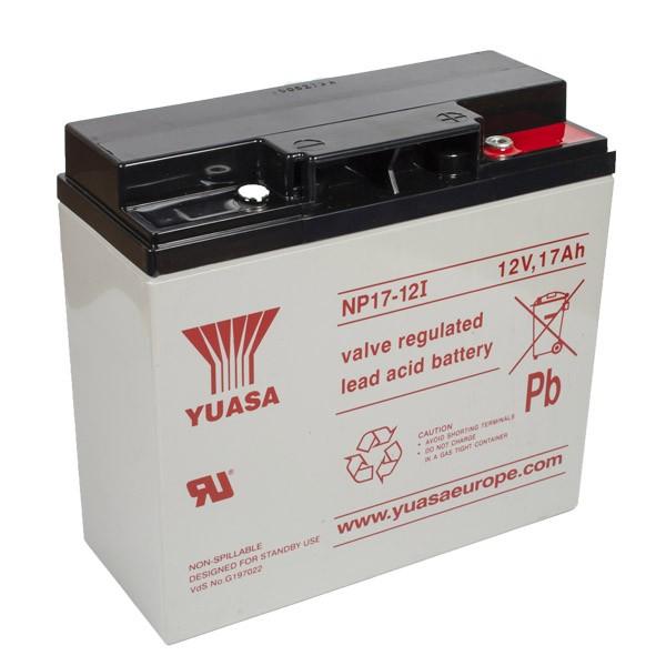 Yuasa NP17-12 VRLA Battery 12V 17Ah