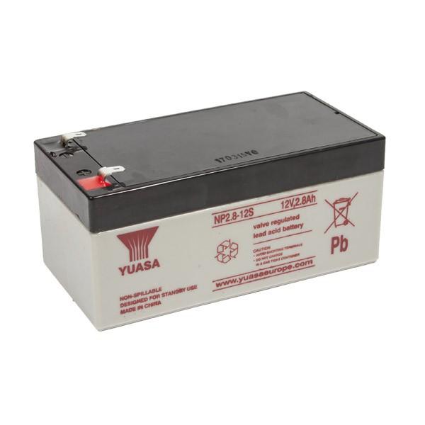 Yuasa NP2.8-12S VRLA Battery 12V 2.8Ah