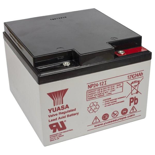 yuasa np24 12i vrla battery 12v 24ah sealed lead acid battery types batteries. Black Bedroom Furniture Sets. Home Design Ideas