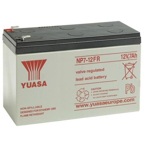Yuasa NP7-12 Battery 12V 7Ah Flame Retardent