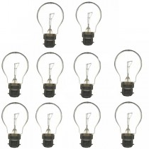 GLS Light Bulb 240V 60W B22D Clear 10 PACK